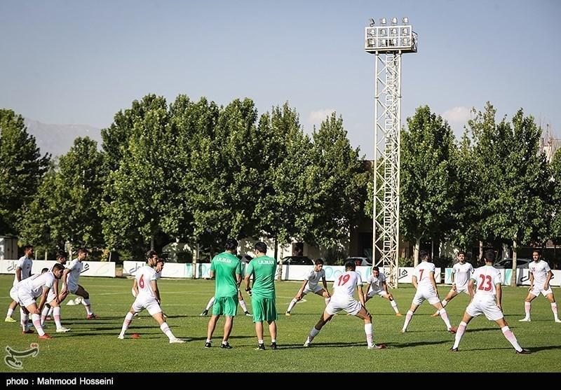 گزارش تمرین تیم فوتبال امید، غیبت دو استقلالی و سوژه شدن رضا شکاری، خبری از دستیاران خارجی نبود