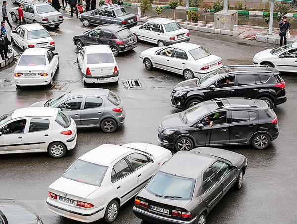 20 مرداد؛ ترافیک نیمه سنگین محور هراز