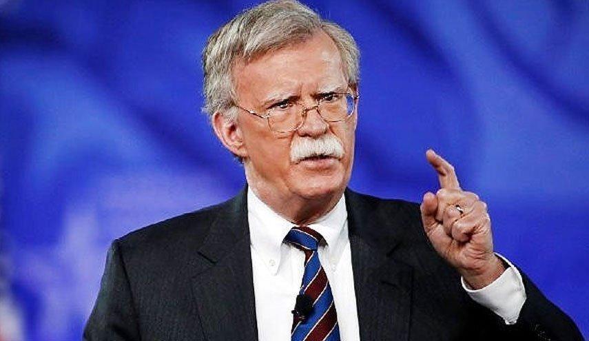 واکنش بولتون به تحریم اندیشکده آمریکایی توسط ایران