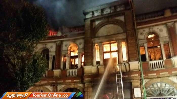 درخواست اعتبار 200 میلیاردی برای اطفاء حریق موزه ها