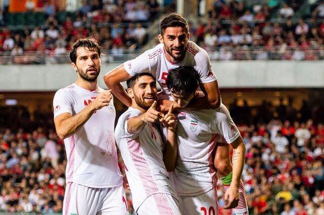 تیم ملی ایران بدون تغییر در رده 23 جهان و نخست آسیا